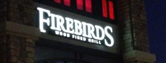 Firebirds Wood Fired Grill is one of David'in Kaydettiği Mekanlar.