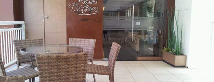 Regina Diógenes Gourmet is one of Bares e Restaurantes.