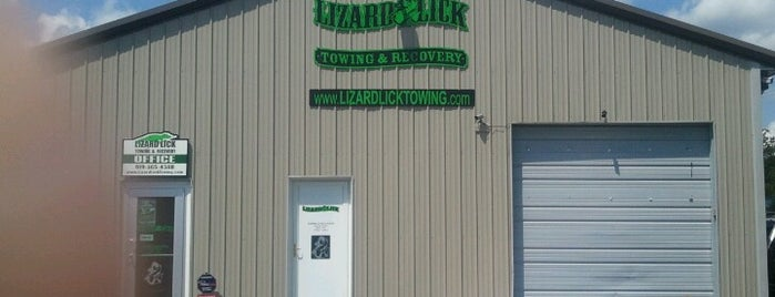 Lizard Lick Towing & Recovery is one of Trudy's list.