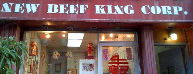 New Beef King Corp is one of Where to Eat Chinese Food in NYC.