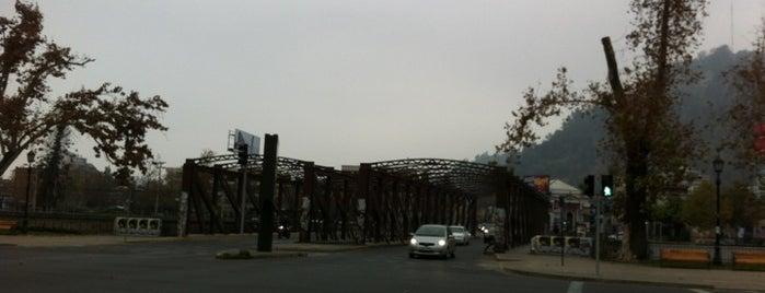 Puente Purisima is one of Lugares, plazas y barrios de Santiago de Chile.