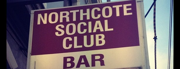 Northcote Social Club is one of Locais curtidos por Victoria.