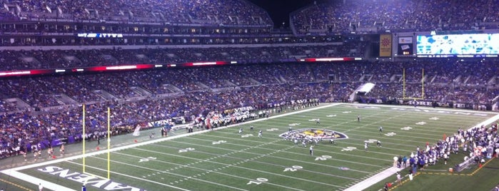M&T Bank Stadium is one of The Most Popular Football Stadiums in the US.