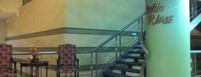 Hotel Diego de Almagro is one of City Hero.