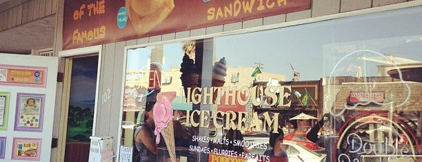 Lighthouse Ice Cream & Yogurt is one of SD: Food & Drinks.