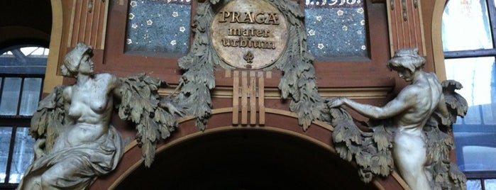 Prag Hauptbahnhof is one of Praha: 72 hours in Prague.