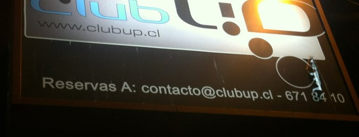 Club UP is one of Orte, die Carolina gefallen.