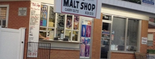 The Malt Shop is one of Steven's Liked Places.