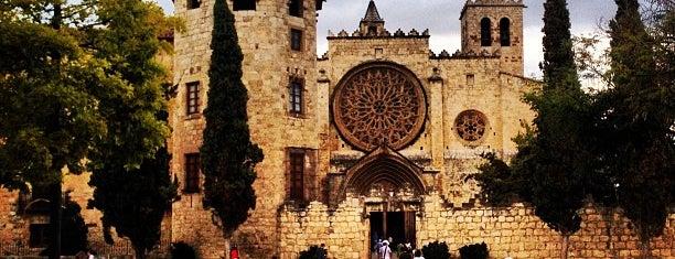Monestir de Sant Cugat is one of Tempat yang Disimpan Cristiam.