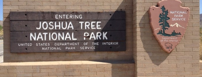 Joshua Tree National Park Visitors Center is one of Twerksgiving.