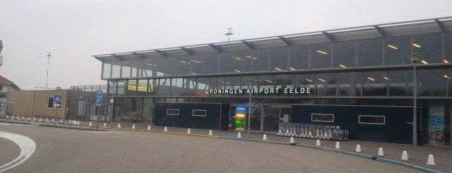 Aeropuerto de Groningen Eelde (GRQ) is one of Lugares favoritos de Rick.