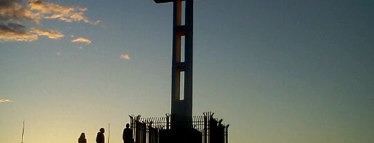Mt Soledad Veterans Memorial is one of SAN.