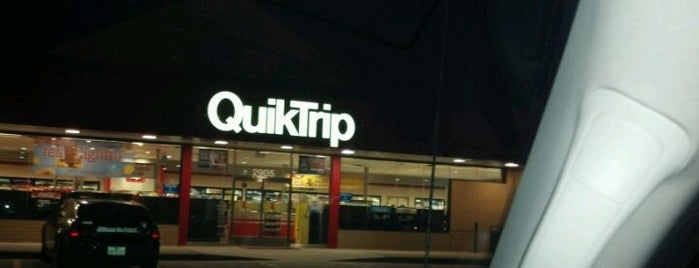 QuikTrip is one of Locais curtidos por KATIE.
