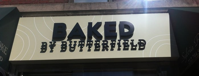 Baked by Butterfield is one of UES.