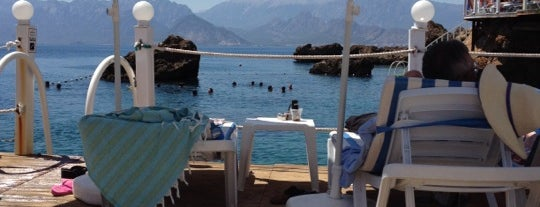 Bambus Beach Club is one of Yerler - Antalya.