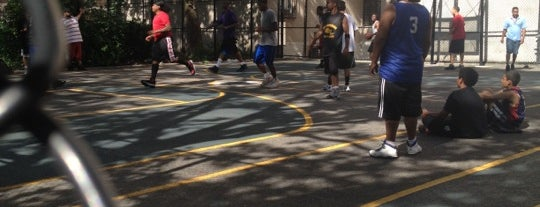 Where to play ball — Public Courts