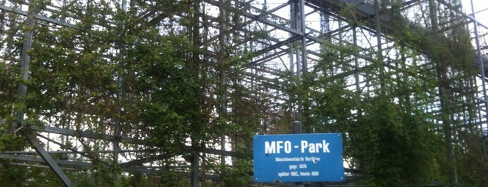 MFO-Park is one of Lieux sauvegardés par Olin.