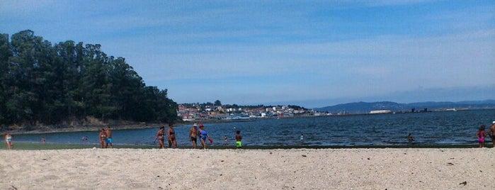 Praia de Gandarío is one of Playas de España: Galicia.