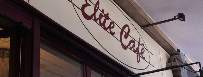 Elite Café is one of Tempat yang Disukai Sandybelle.