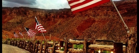 Red Cliffs Lodge is one of NV, AZ, UT.