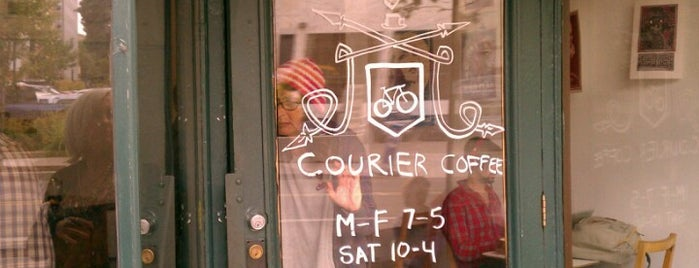 Courier Coffee is one of Portland.