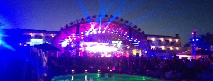 Ushuaïa Ibiza Beach Hotel is one of Locais curtidos por Aldo.