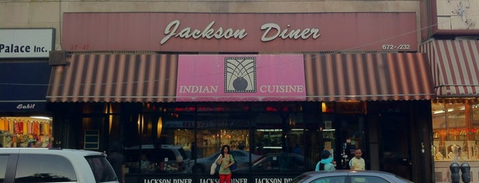 Jackson Diner is one of New York Magazine Kids' Restaurants.