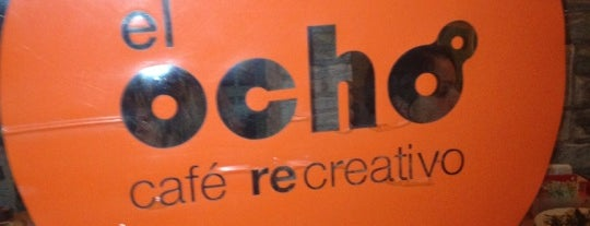 El Ocho Café Recreativo is one of Algunos lugares....