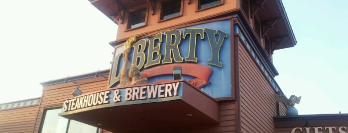 Liberty Brewery & Grill is one of Lieux sauvegardés par Lizzie.