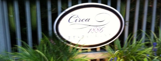 Circa 1886 Restaurant is one of Our Inns and Our Restaurant.