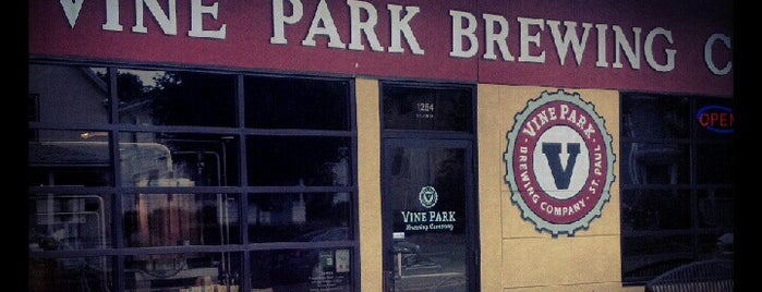 Vine Park Brewing Co. is one of Minneapolis Brewing.
