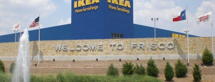 IKEA is one of Dallas FW Metroplex.
