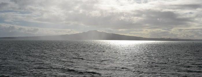 Rangitoto Island is one of NZ.