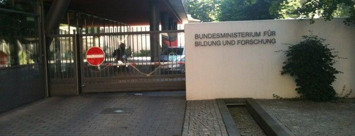 Bundesministerium für Bildung und Forschung is one of Berlin #4sqcities.