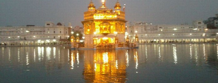 The Golden Temple (ਹਰਿਮੰਦਰ ਸਾਹਿਬ) is one of World Heritage Sites List.