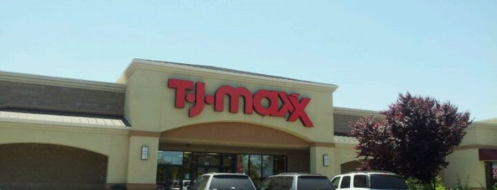 T.J. Maxx is one of California Shopping.