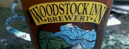 Woodstock Inn Station & Brewery is one of My Favorite Places.
