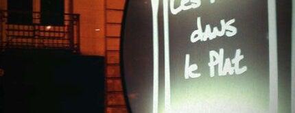 Les Pieds dans Le Plat is one of Locais salvos de Ilya.