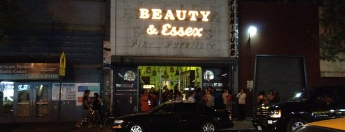 Beauty & Essex is one of To Go.