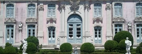 Palácio Nacional de Queluz is one of Sintra.