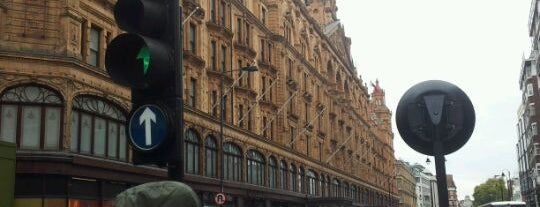 Harrods is one of London as a local.