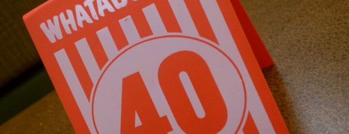 Whataburger is one of Locais curtidos por Anthony.