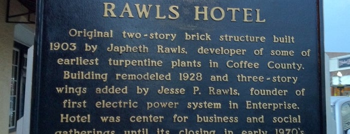 The Rawls is one of Paranormal Places Across United States.