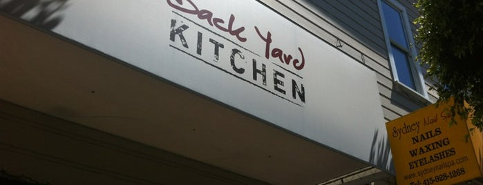 Back Yard Kitchen is one of LevelUp merchants in San Francisco!.