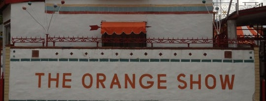 The Orange Show is one of Houston Points Of Interest.