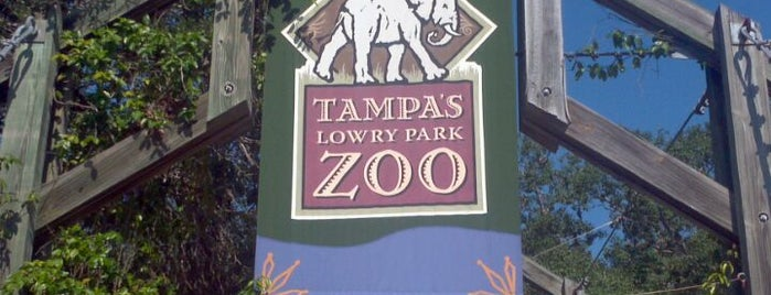 Tampa's Lowry Park Zoo is one of Stephie's List......