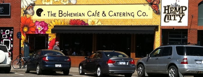 Bohemian Cafe is one of Kelowna.