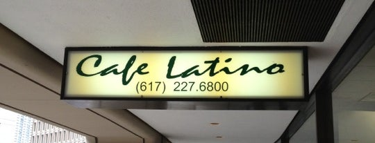 Cafe Latino is one of Boston Eats Bucket List.