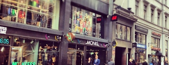 Monki is one of Helsinki.