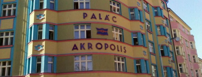 Palác Akropolis is one of Music Clubs in Prague.